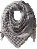 Steve Madden Plaid Variety Square Blanket Wrap Scarves