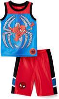 Children's Apparel Network Spider-Man Red & Blue Spidey Tank & Shorts - Toddler & Boys