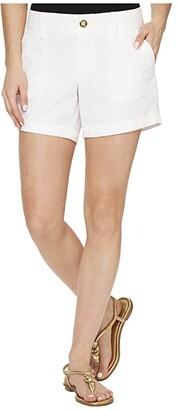 Lilly Pulitzer Callahan Shorts (Resort White) Women's Shorts