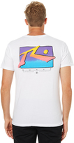 Rusty Tv Screen 3 Mens Tee White
