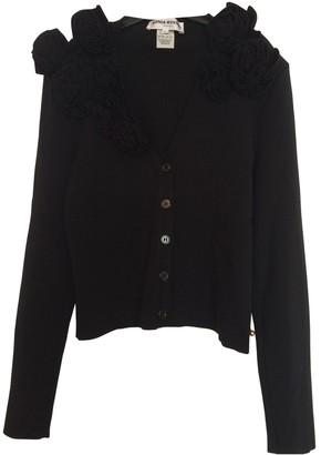 Sonia Rykiel Black Cotton Knitwear for Women