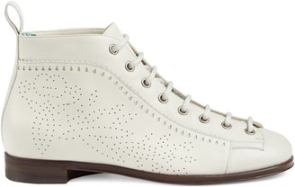 Gucci Ankle boot with brogue details