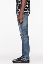 Levi's CLOTHING Blue faded 1967 505 Jeans