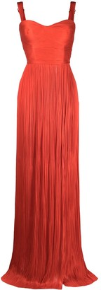 Maria Lucia Hohan Kesia silk tulle dress