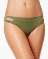 Bar III Cut-Out Hipster Bikini Bottoms, Only at Macy's