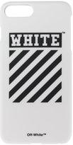 Off-White Diagonal Print iPhone 7+ Case - unisex - PVC - One Size