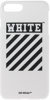 Off-White Diagonal Print iPhone 7+ Case