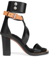 Isabel Marant Jenyd Shearling-lined Leather Sandals - Black