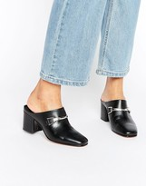 Asos OXYGEN Leather Snaffle Mules