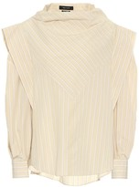 Isabel Marant Welly striped cotton and silk blouse