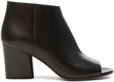 Maison Margiela Leather Open Toe Booties