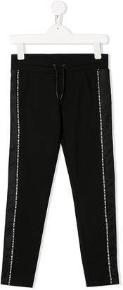 DKNY Mesh Stripe Track Pants