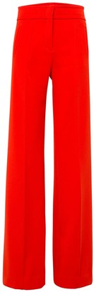 Dorothee Schumacher Sophisticated Perfection Highwaisted Pants in Japanese Red