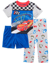 Disney 3-Pc. Cars Pajama Set, Toddler Boys (2T-5T)