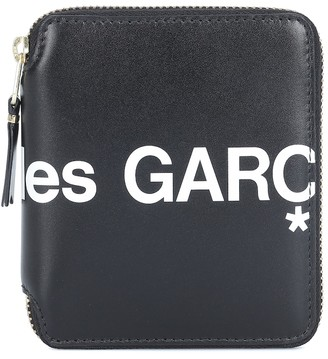 Comme des Garcons Huge Logo Medium leather wallet