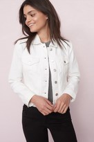Garage Destructed White Classic Denim Jacket