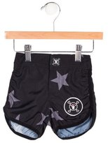 Nununu Boys' Star Print Swim Trunks