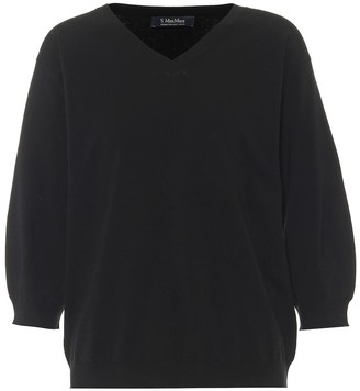 S Max Mara Spoleto V-neck sweater