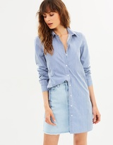 Vero Moda Bella LS Long Shirt