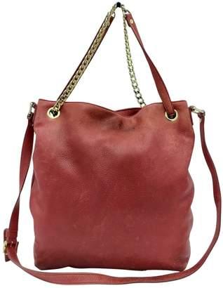 Michael Kors Red Leather Handbags