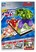 Crayola ; Color Alive 2.0 - Avengers