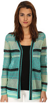 M Missoni Fancy Ribbon Knit Cardigan