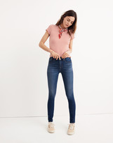 """Madewell Taller 10"""" High-Rise Skinny Jeans in Danny Wash: TENCEL Denim Edition"""