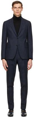 Ermenegildo Zegna Blue Wool Suit