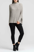 Lush Clothing Ribbed Textured Sweater
