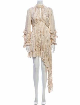 Alexis Paisley Print Long Dress