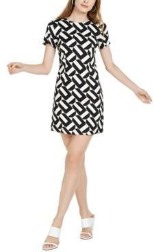 Trina Turk Trina Optic Geo-Print Sheath Dress