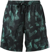 The Upside camouflage print shorts - men - Polyester/Spandex/Elastane - M