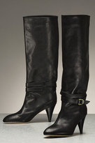 Emmy Belted Boot in Black