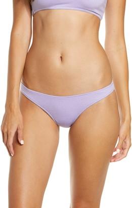 Frankie's Bikinis Olivia Metallic Bikini Bottoms
