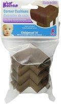 Kid Kusion 4 Pack Small Toddler Corner Kushions, Black