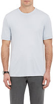 Giorgio Armani Men's Jersey Crewneck T-Shirt-LIGHT BLUE, BLUE