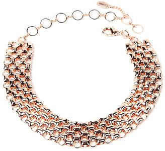 Amrita Singh Women's Necklaces Rose - Rose Goldtone Christa Statement Necklace
