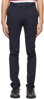 Ralph Lauren Purple Label Navy Eaton Trousers