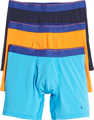 Polo Ralph Lauren Assorted 3-Pack Microfiber Boxer Briefs