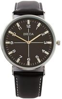 Frank + Oak Breda Watch - Belmont in Black & Silver