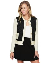 Juicy Couture Puffer Sweater Cardigan