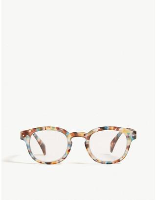 Izipizi #C Reading square-frame glasses +1.5