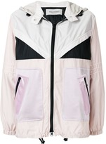 Valentino colour blocked lightweight jacket