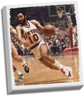 """Steiner Sports New York Knicks Walt Frazier 32"""" x 40"""" Stretched Canvas"""
