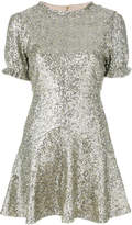 For Love & Lemons sequin embellished dress