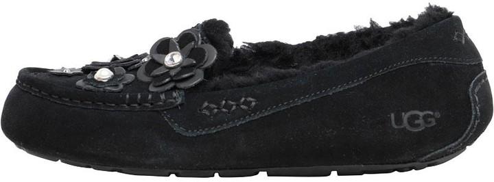 96deb8437a5 Womens Ansley Petal Slippers Black