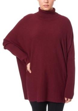 Joseph A Women's Turtleneck Poncho Sweater