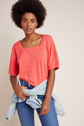 Anthropologie Deedee Dolman-Sleeved Top By in White Size XS