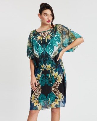 Montique Portofino Chiffon Tunic Dress