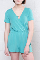Everly Alma Surplice Romper